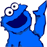 Cookie Monster by cloudff7ac