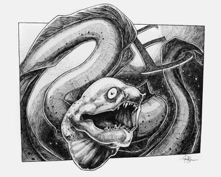 E is for Eel by AudreyBenjaminsen