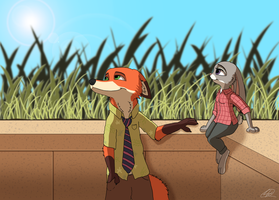 Zootopia - Writing our story by Echoes-the-loyal