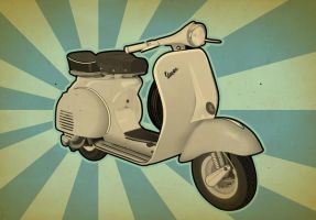 My second Vespa by gongon2