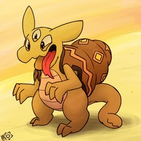 Sand Imp by LeoTheLionel