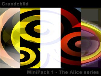 MiniPack 1 - The Alice series by Grandchild