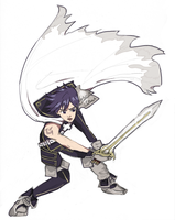Quick Drawing - Chrom by OneWingArt