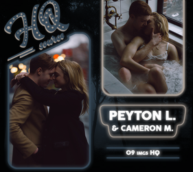 Photopack 1923 // Peyton List - Cameron Monaghan by HQSource