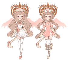 [CE] Milk outfit designs by mellowshy