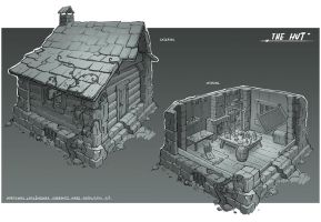 The hut - concept by martydesign