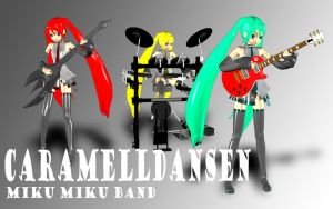 Miku Miku Band XD by JPL-Animation