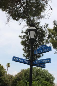 Street Light and Sign Posts by JesterOfLullaby