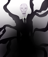 Oct 1: Slender man by Meeps-Chan