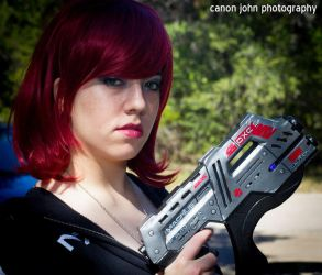 Commander Shepard - Mass Effect by nekomatalee