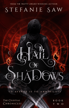 Hall Of Shadows Book Cover by Artinthevein