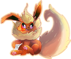Flareon [evelution project] by Kspmill
