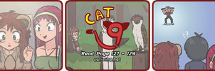 Cat Nine: Page 127 - 129 by radstylix