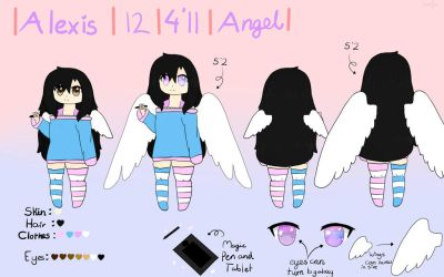 Alexis Reference Sheet by HowToBeTrash101