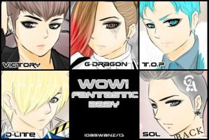 BIG BANG:Fantastic Baby by IDASWANZ