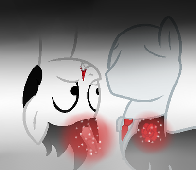 Rose for u ! |SlenderMan x Jeff The Killer| by kacenkamiksovksa159