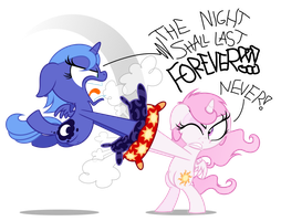 Commission: Pillow Fight! by ZuTheSkunk
