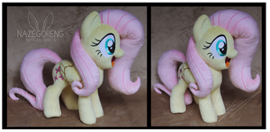 Fluttershy Custom Plush by Nazegoreng