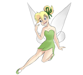 Tinkerbell by WibbleyWobbleyThing