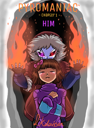 Pyromaniac Comic Cover (Chapter 1 - Him) by sonicfangirl666