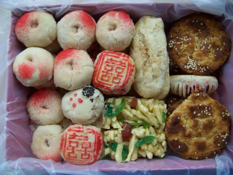 Chinese Pastries 1 by Wisp-Stock