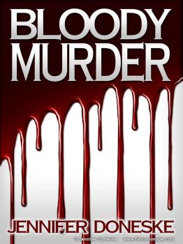 Bloody Murder - Cover Template by whitefantom