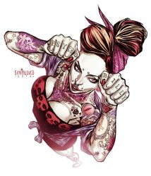BNN_PSYCHOBILLY by Santolouco