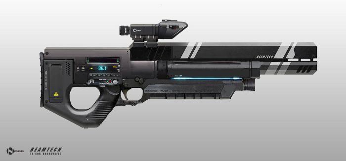 Laser Rifle concept by Hazzard65