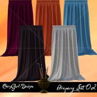 Drapery Set 02 by CntryGurl-Designs
