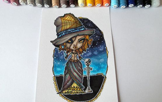 The Witch | Copic markers by CatherineWhite