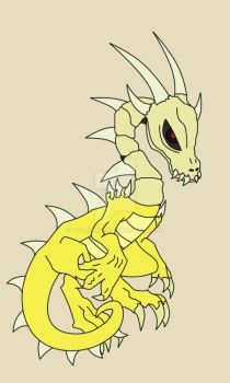 A Dead-ly Baby Dragon !!! by neoashuron