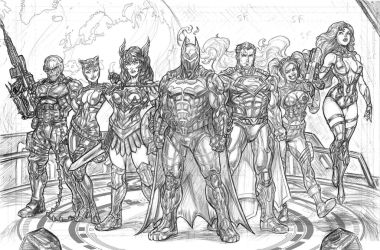 Injustice 2 Lineup by CdubbArt