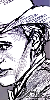 Chrisily 4 3 Painting Preview By Iconchrisily 0 FREE 10th Doctor Lineart