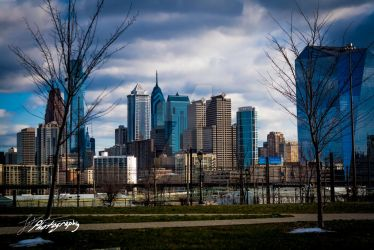 Philadelphia - west view by SkeIator