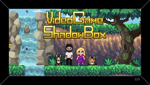 Video Game Shadow Box - Business Card by RollToNotDie
