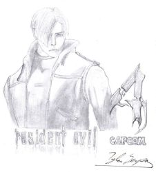 RE4 Leon by residentevilrulz