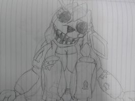 Glaciate the withered animatronic by KageJason