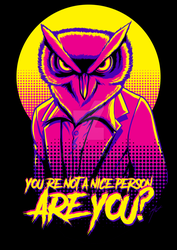 You're not a nice person, are you? by SaTTaR