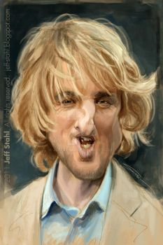 Owen Wilson by JeffStahl
