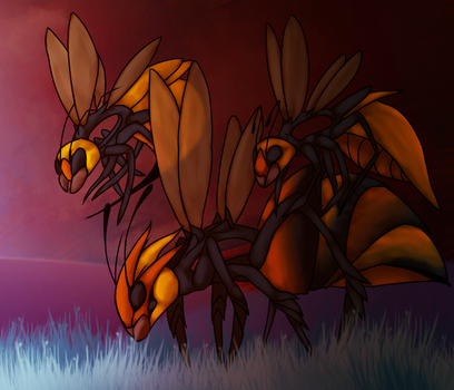 Fat Insect Queen by flophelia