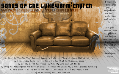 Songs of the Lukewarm Church by Azenquor