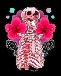 Aesthetic Skeleton by killcodes