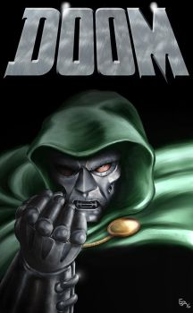Dr. Doom by Ejay32