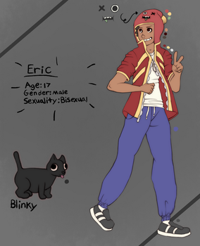 Eric Reference Sheet - OC by narkissa03