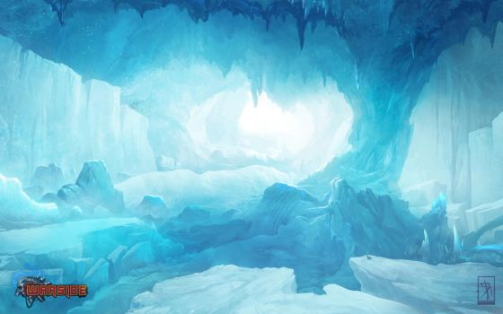Ice-cave by AKIRAwrong