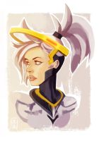 Overwatch: Mercy by jayoh28