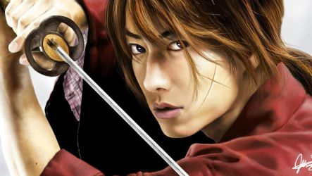 Rurouni Kenshin Artwork by JoseDalisayV