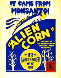Alien Corn by poasterchild