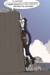 Ain't No Mountain High Enough... by chibiBiscuit