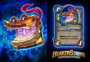 Hearthstone Babbling Book by AJNazzaro